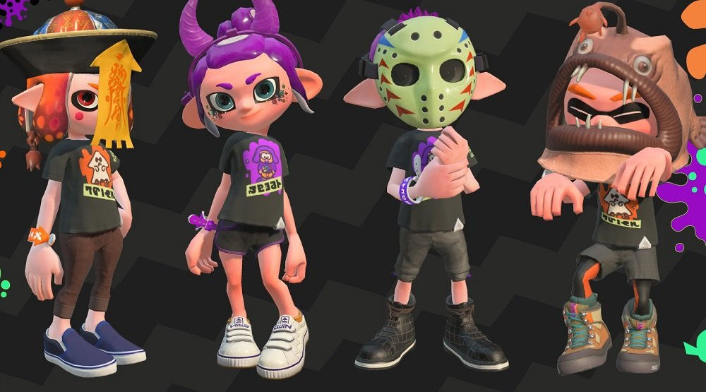 Splatoon 2's free Halloween gear is available to download if you missed it the first time around screenshot