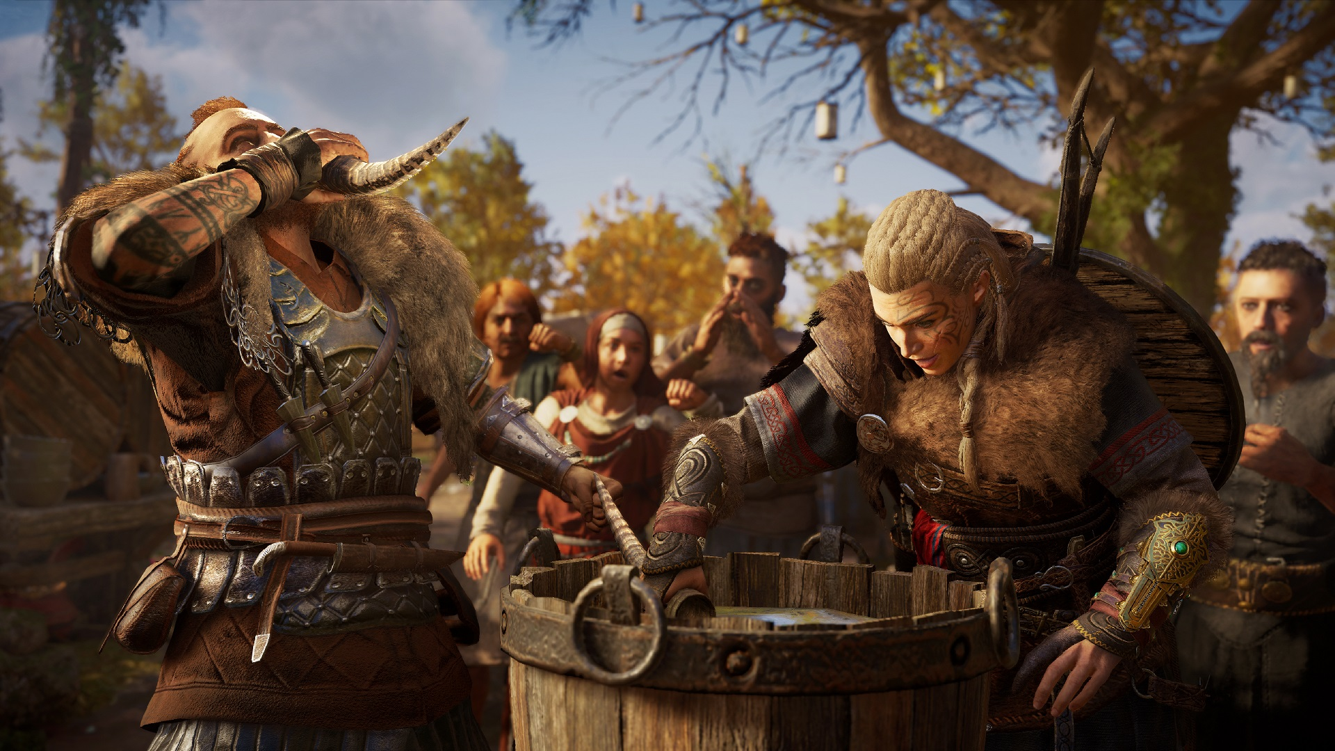 Assassin's Creed Valhalla takes the same approach to DLC as Odyssey, but scaled down a bit