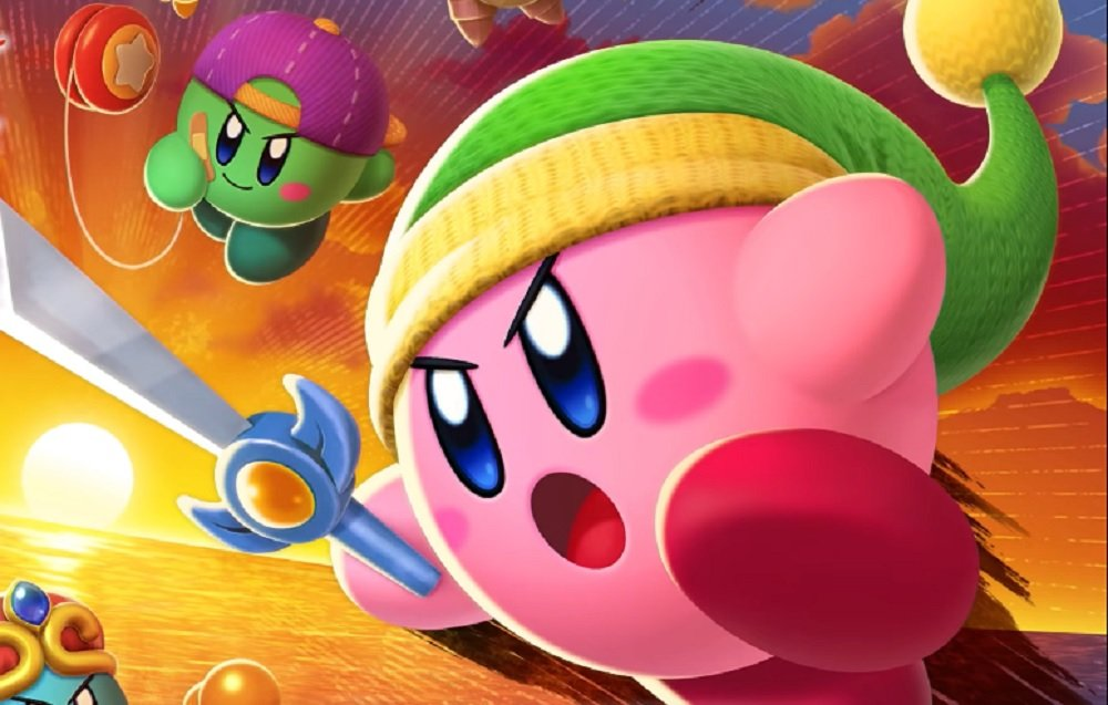 Kirby is up for a ruck in Nintendo Switch Kirby Fighters 2 demo screenshot