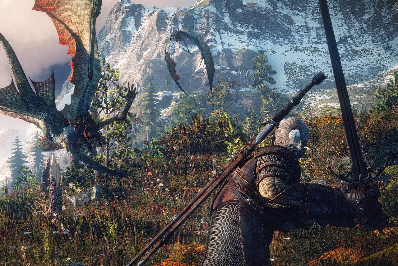 The Witcher 3 (Switcher) just got an update on Switch