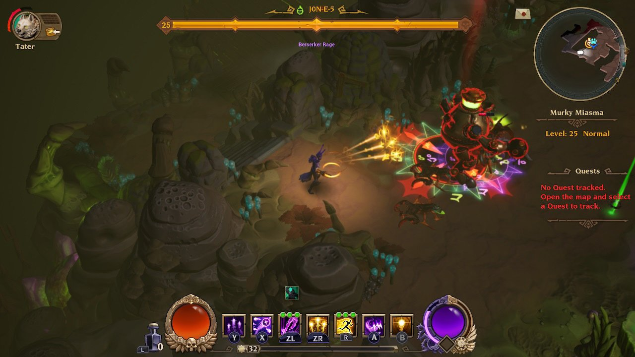 Torchlight III is now on Nintendo Switch if you're in the mood for a light action-RPG screenshot