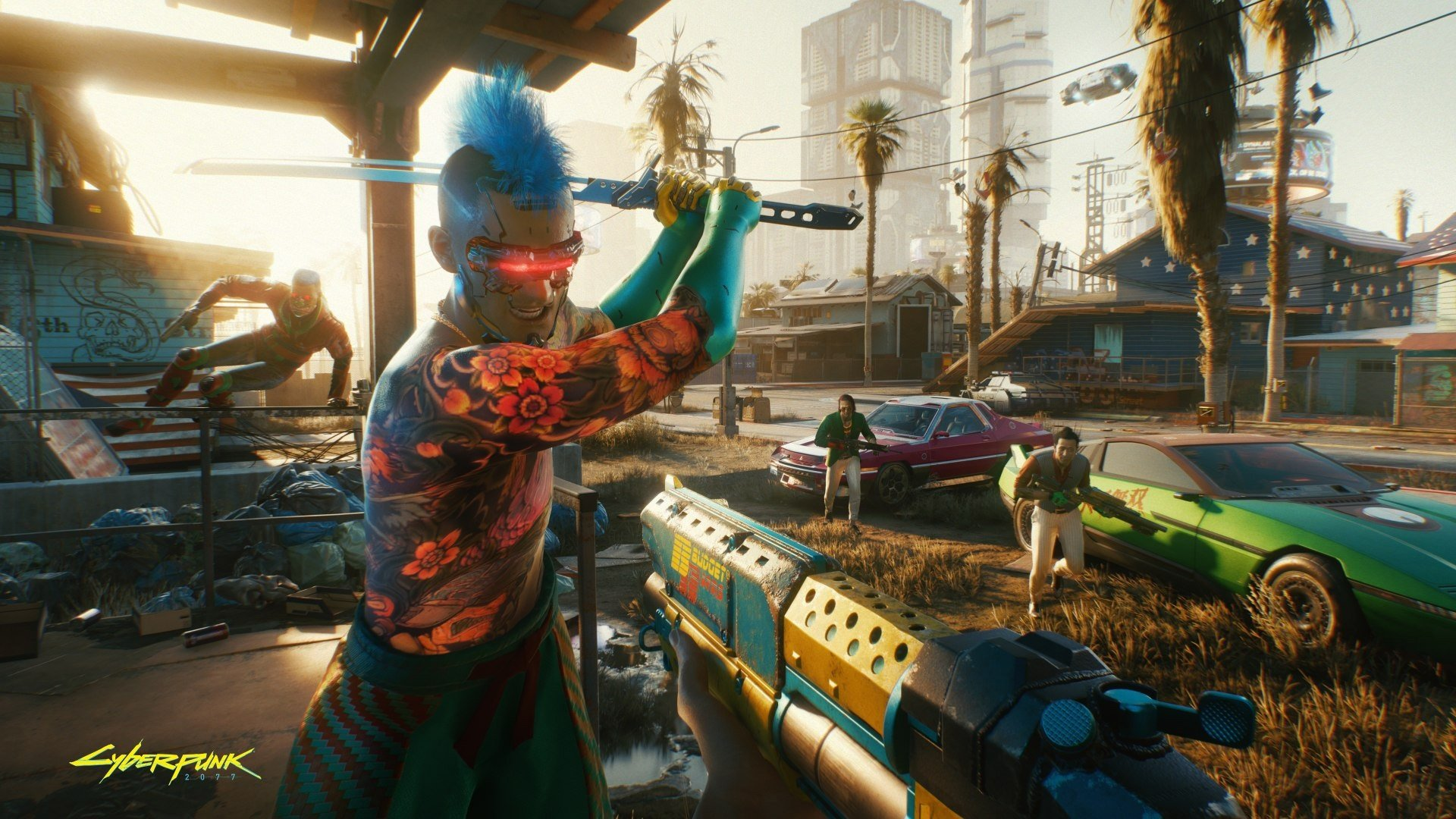 Cyberpunk 2077 hit with another small delay, but it'll still launch before the year's over screenshot