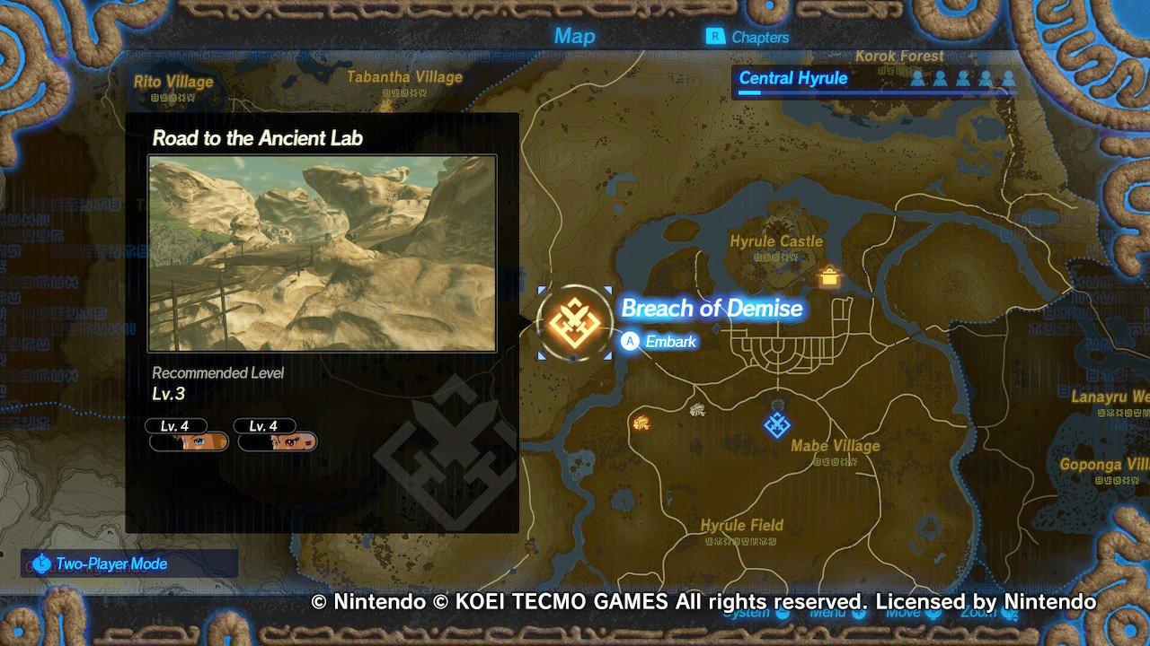 Don T Skip The Surprisingly Big Hyrule Warriors Age Of Calamity Demo