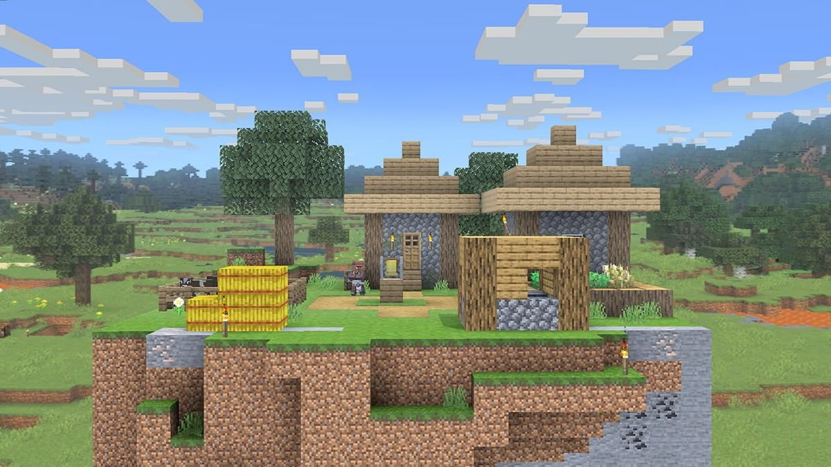Sakurai admirably wanted to allow people to import actual Minecraft levels into Smash Ultimate, but it was 'impossible' screenshot