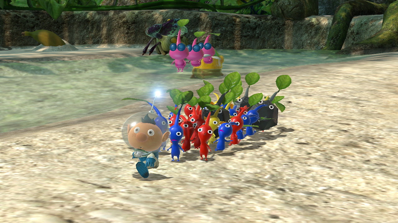 Nintendo Download: Pikmin 3 Deluxe screenshot