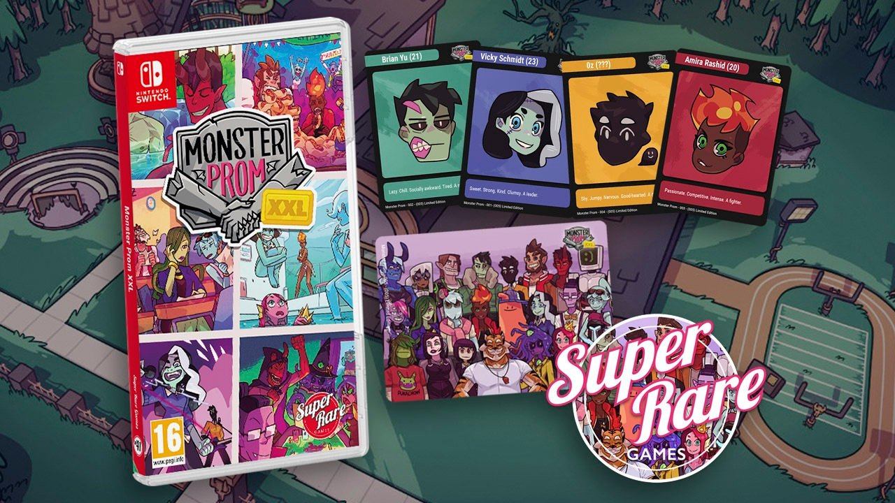 Contest: Win Monster Prom XXL on Switch from Super Rare Games screenshot