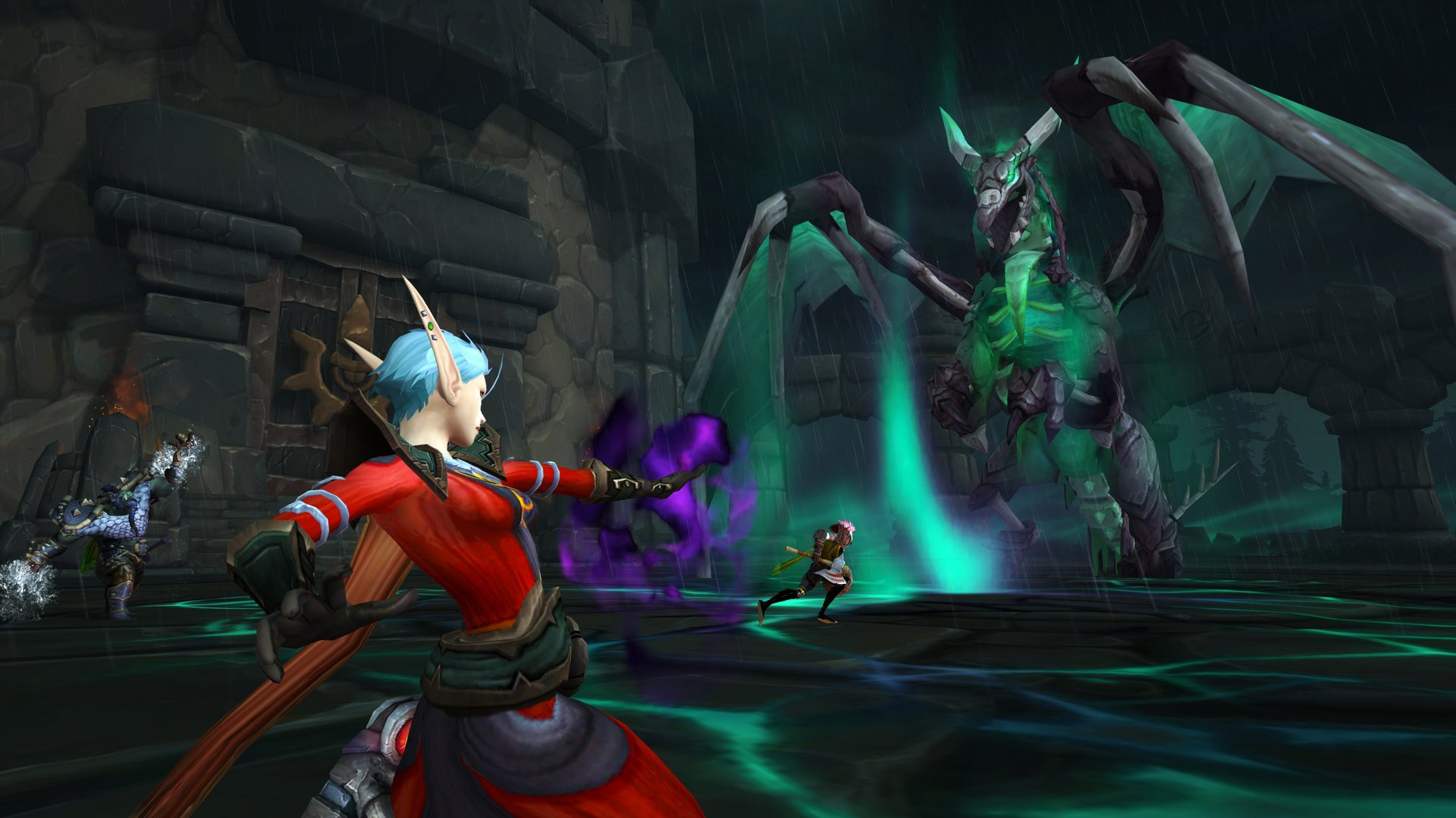 World of Warcraft: Shadowlands' new release date is November 23 and the pre-launch event starts Nov. 10 screenshot