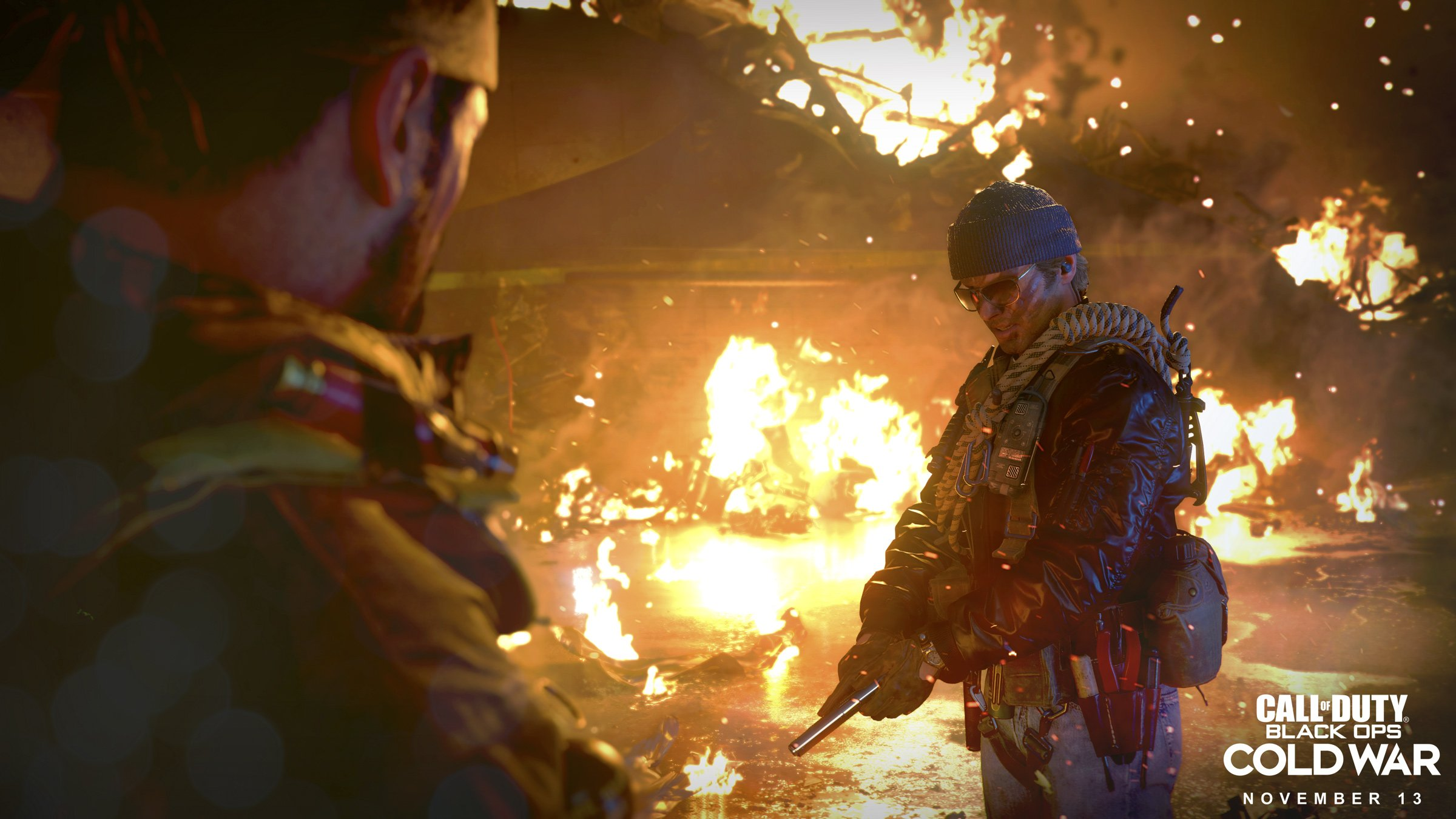 Call of Duty: Black Ops Cold War is a storage hog, but you can install multiplayer only on PC screenshot