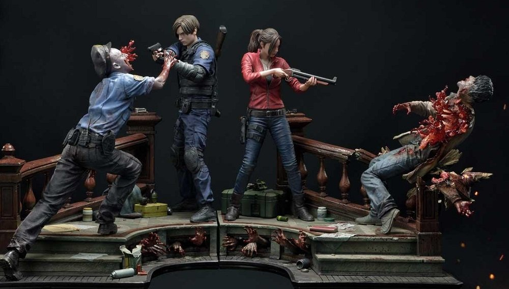 This gory Resident Evil 2 diorama will set you back $2,700  screenshot