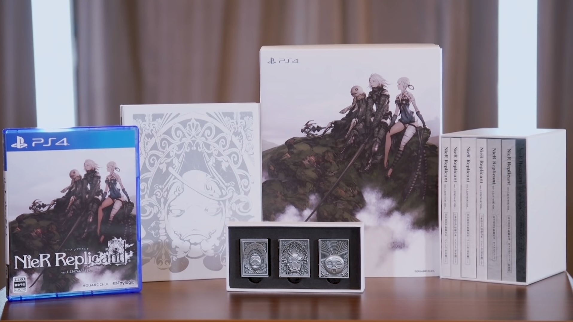 Japan gets a gorgeous NieR Replicant collector's edition screenshot