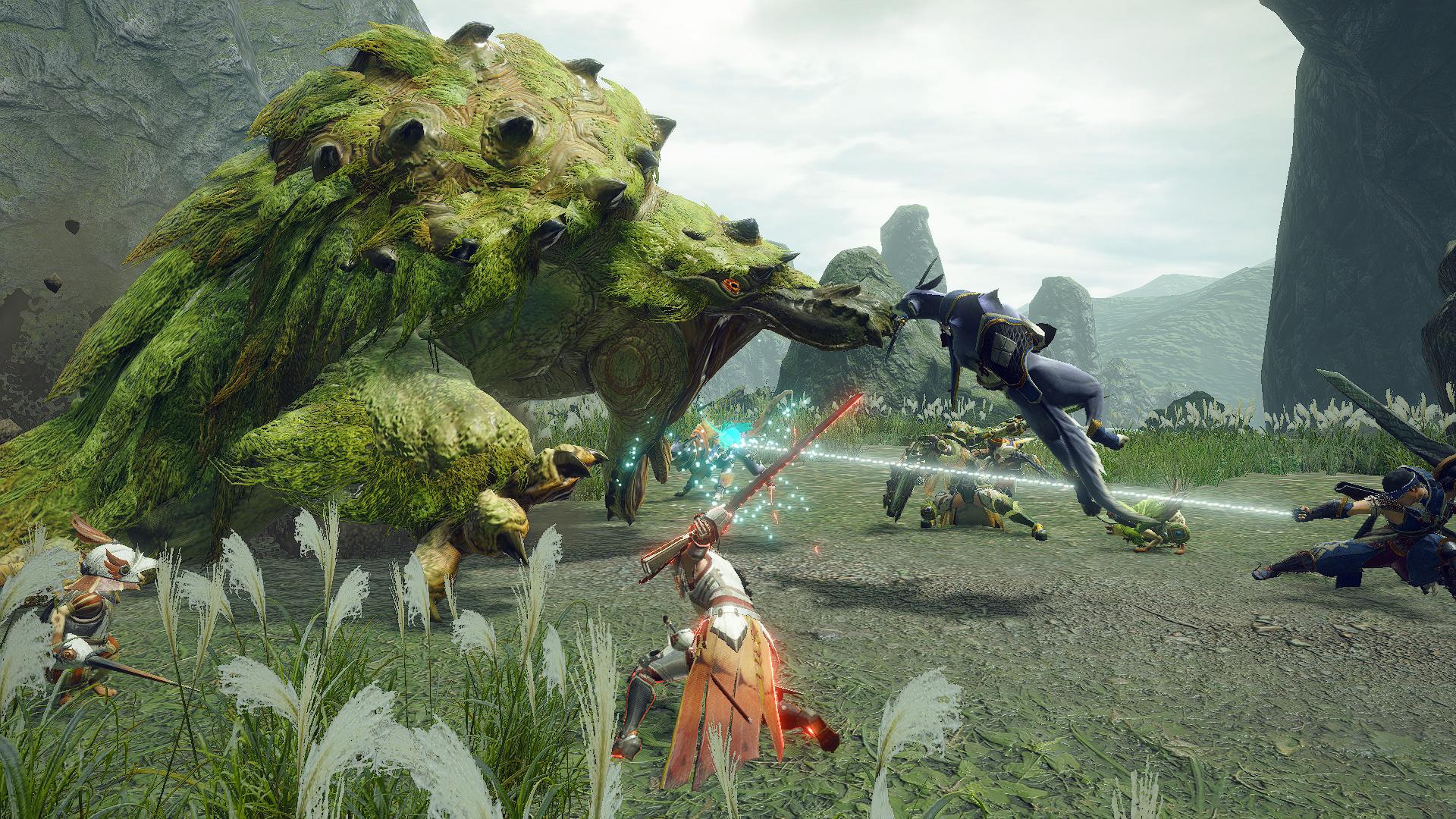 I'm already loving the new combat flow in Monster Hunter Rise screenshot