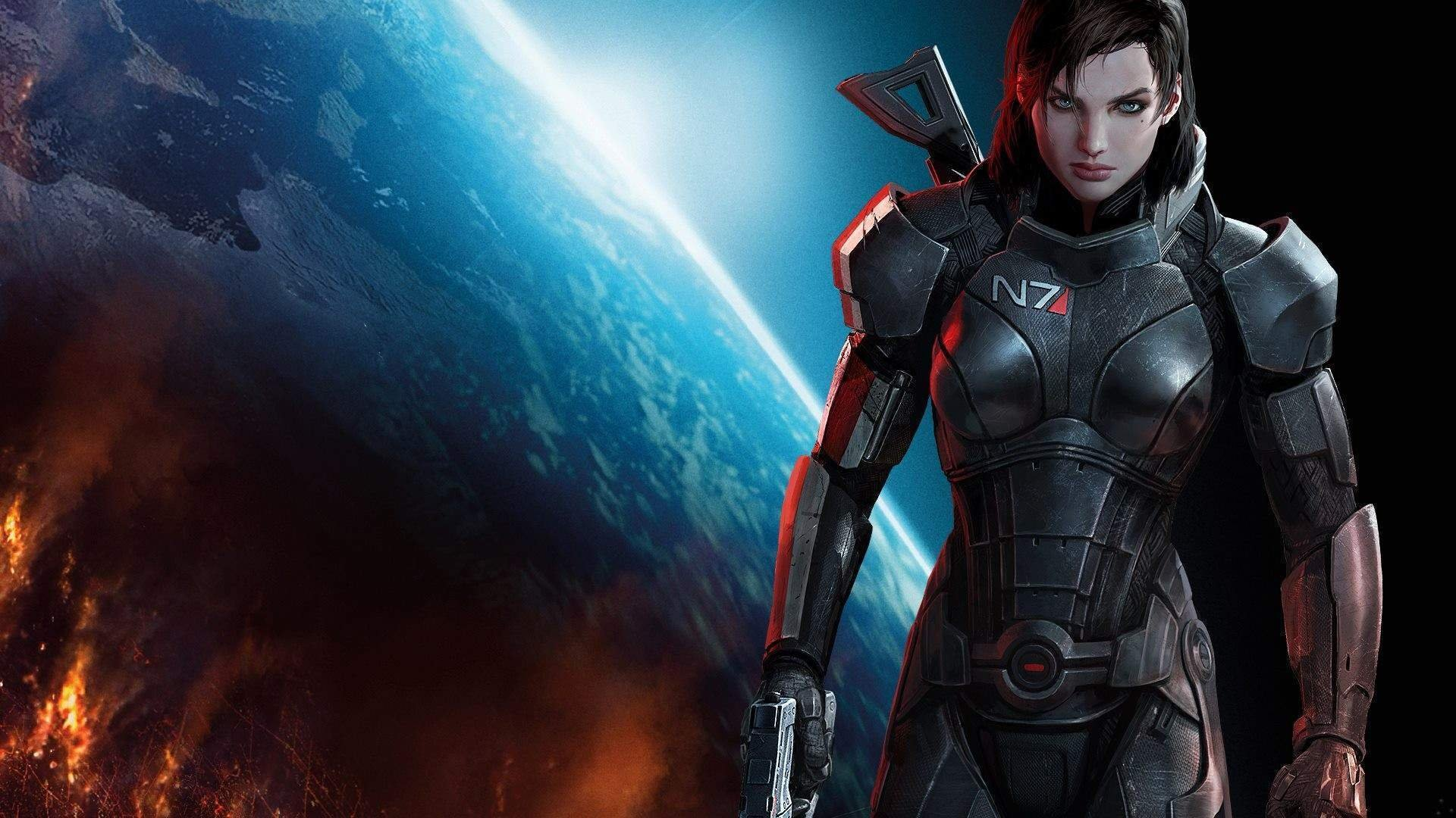 Both Mass Effect Commander Shepards will be participating in N7 Day this year screenshot
