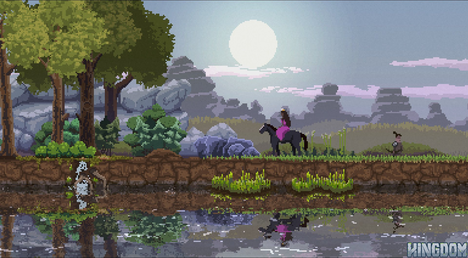 Raw Fury's Kingdom is free on Humble right now screenshot