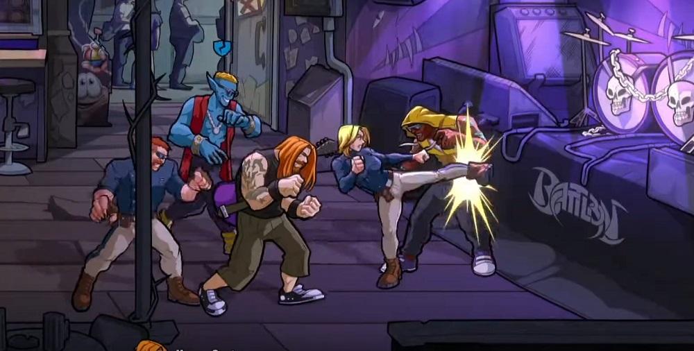 Mayhem Brawler is rocking that Streets of Rage 4 vibe screenshot