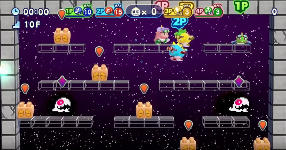 Bubble Bobble 4 Friends headed west on PS4 and Switch November 17 screenshot