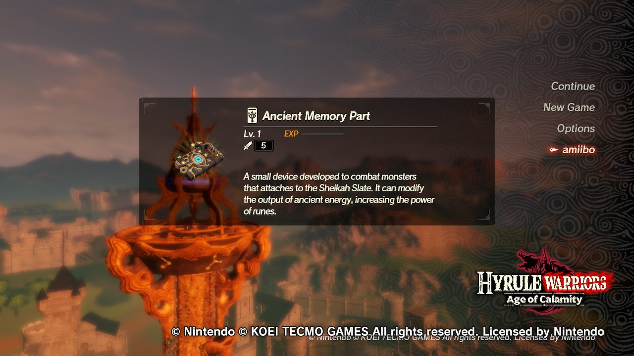 Here S How Amiibo Support Works In Hyrule Warriors Age Of Calamity