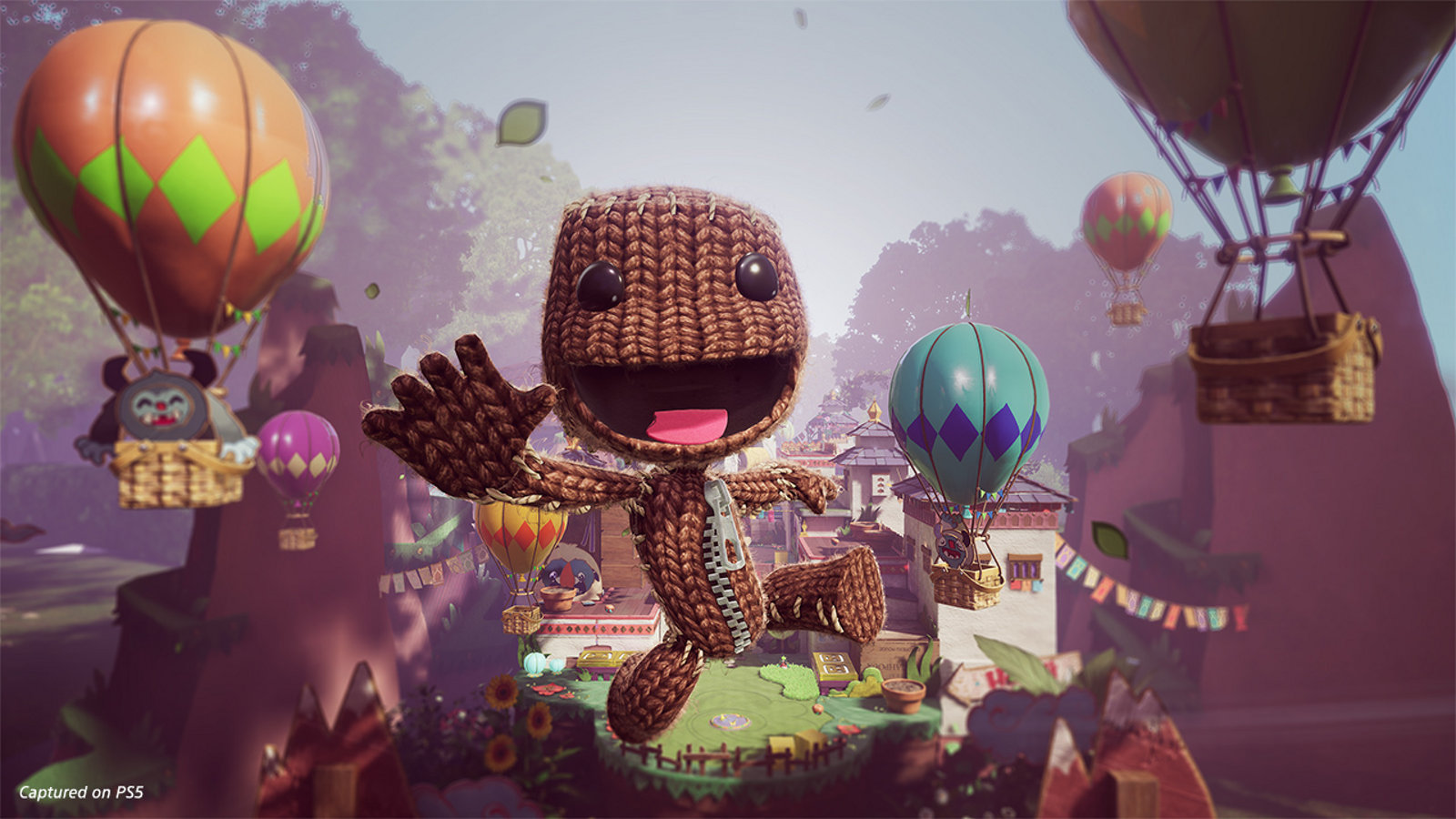 Review in Progress: Sackboy: A Big Adventure screenshot
