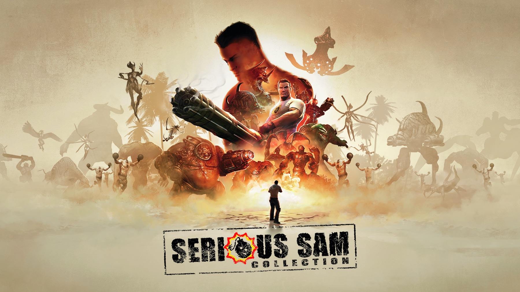 A Serious Sam Collection is coming to Switch screenshot