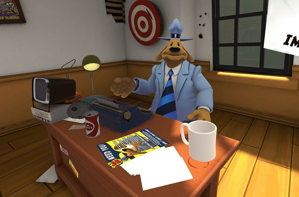Sam and Max are coming to wreck VR in This Time It's Virtual screenshot