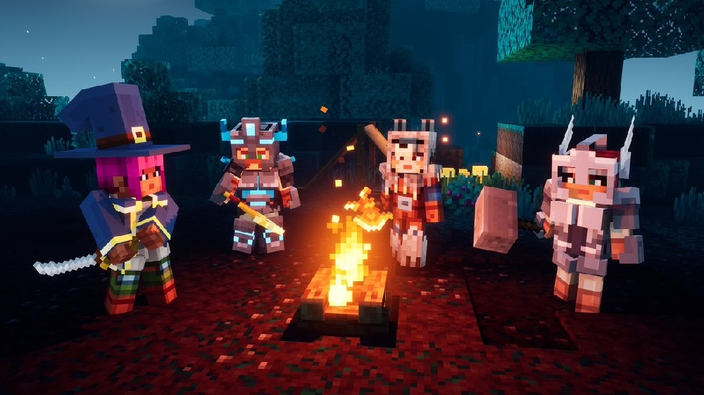 Minecraft Dungeons will support cross-play from November 17 screenshot