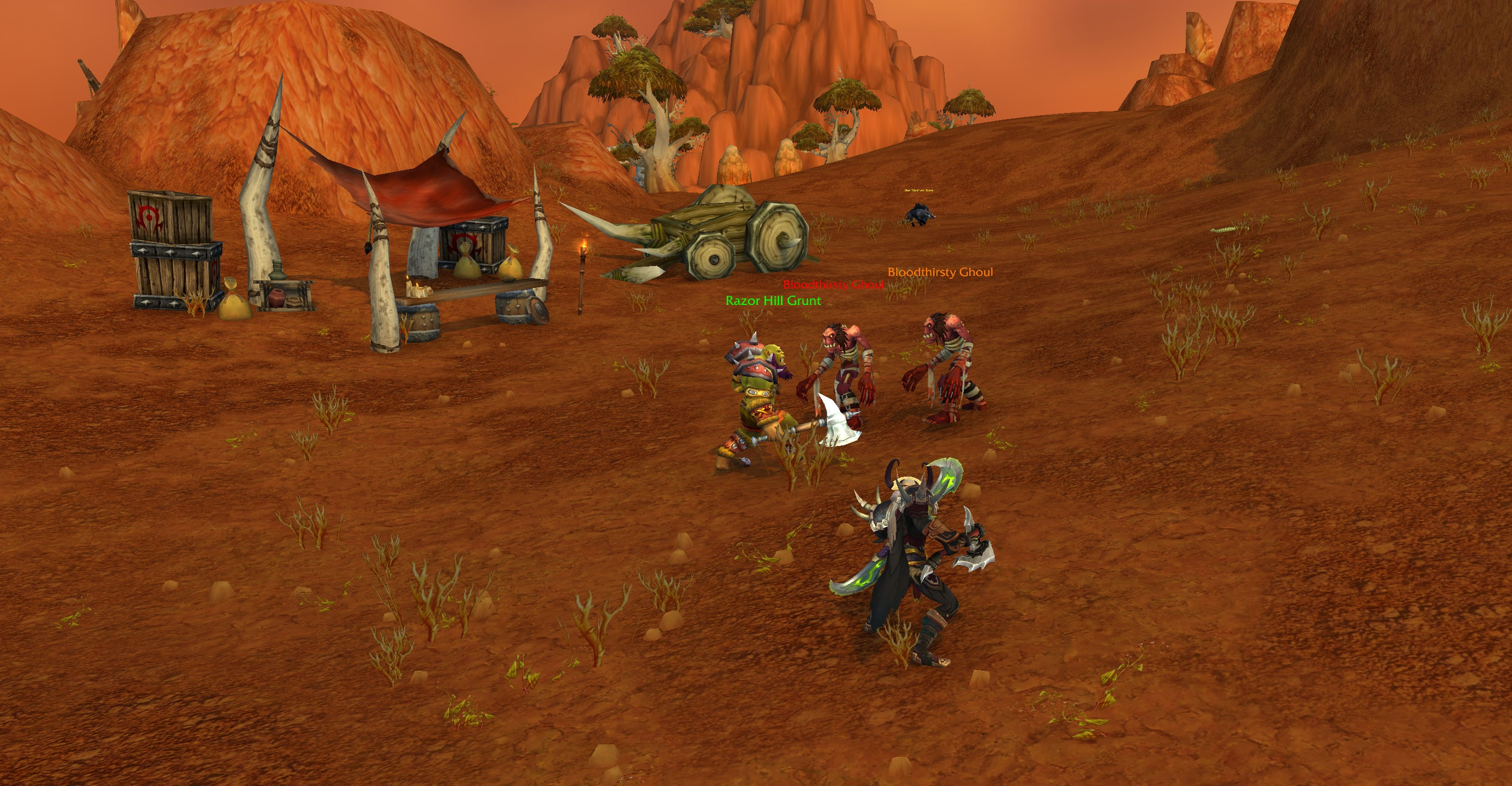 World of Warcraft Shadowlands' pre-launch event is live, and it's pretty fun screenshot