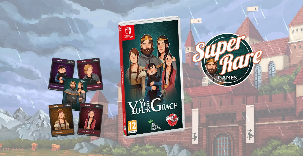 Contest: Win a Switch copy of Yes, Your Grace from Super Rare Games screenshot