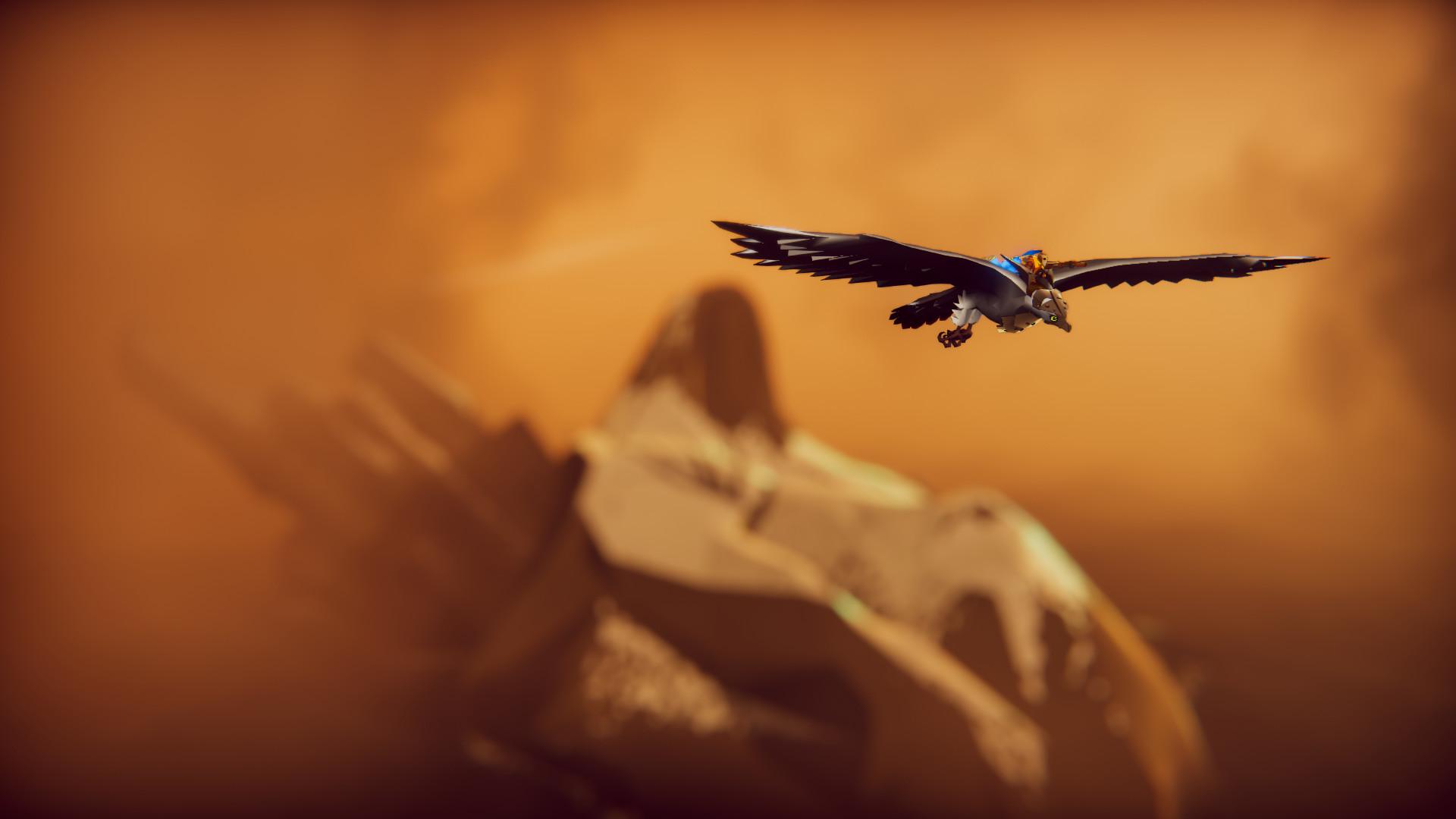 Review: The Falconeer screenshot