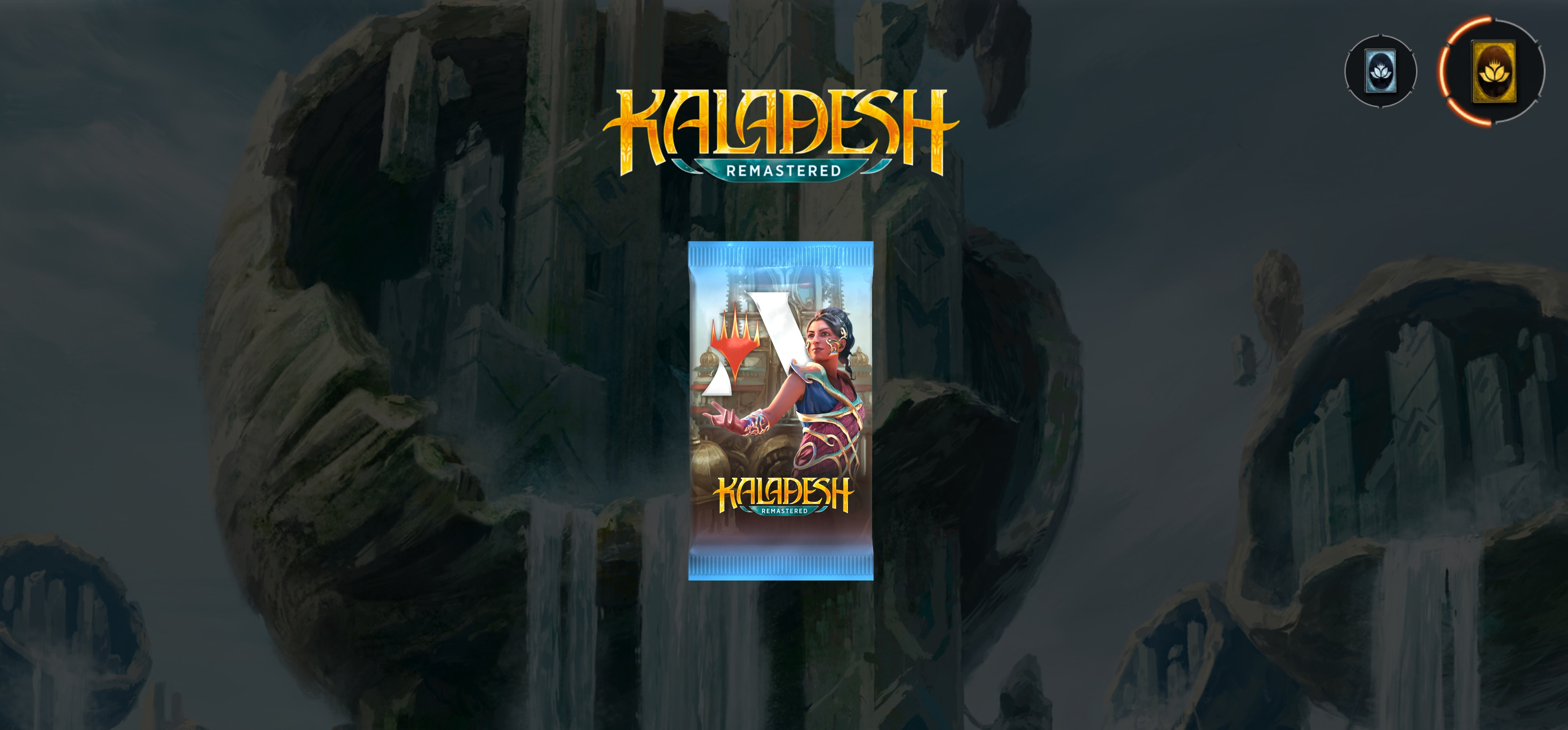 Kaladesh Remastered is out in Magic: Arena, and you can get a free pack now screenshot