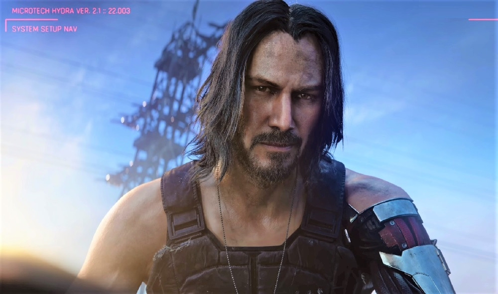 We'll learn more about Cyberpunk 2077's Johnny Silverhand next week screenshot