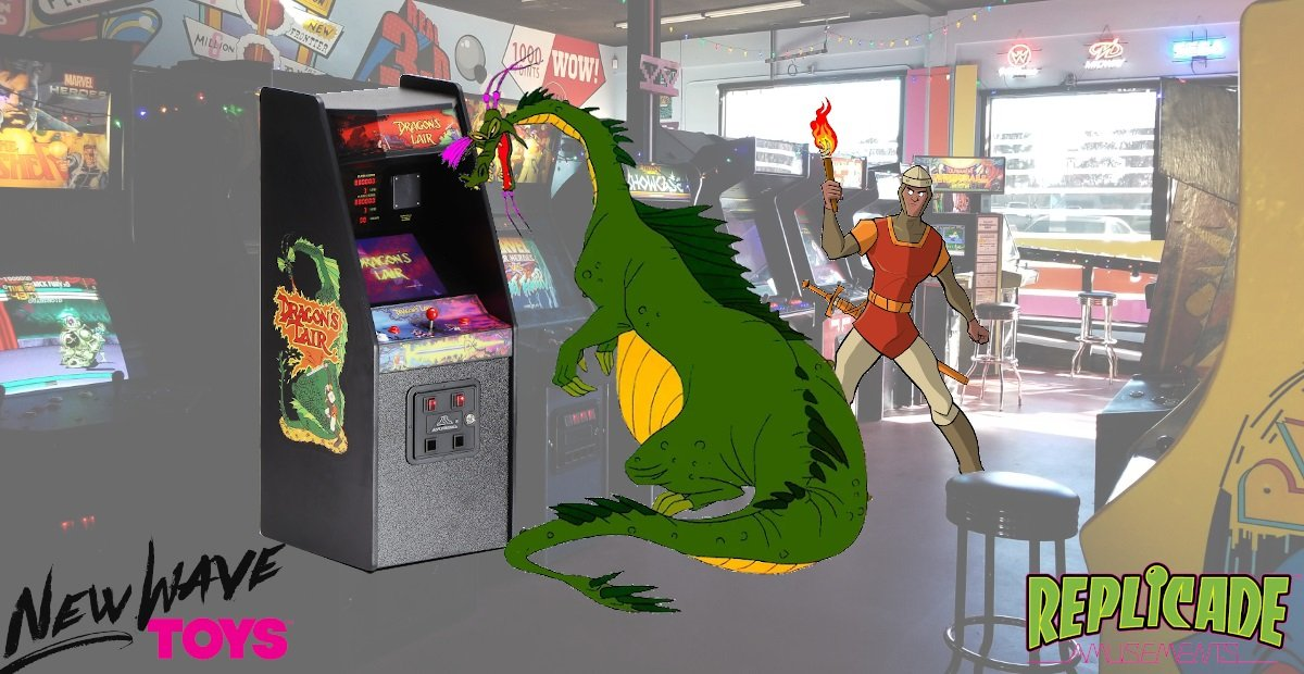 Contest: Win this Dragon's Lair x RepliCade fully-functional mini arcade cabinet screenshot