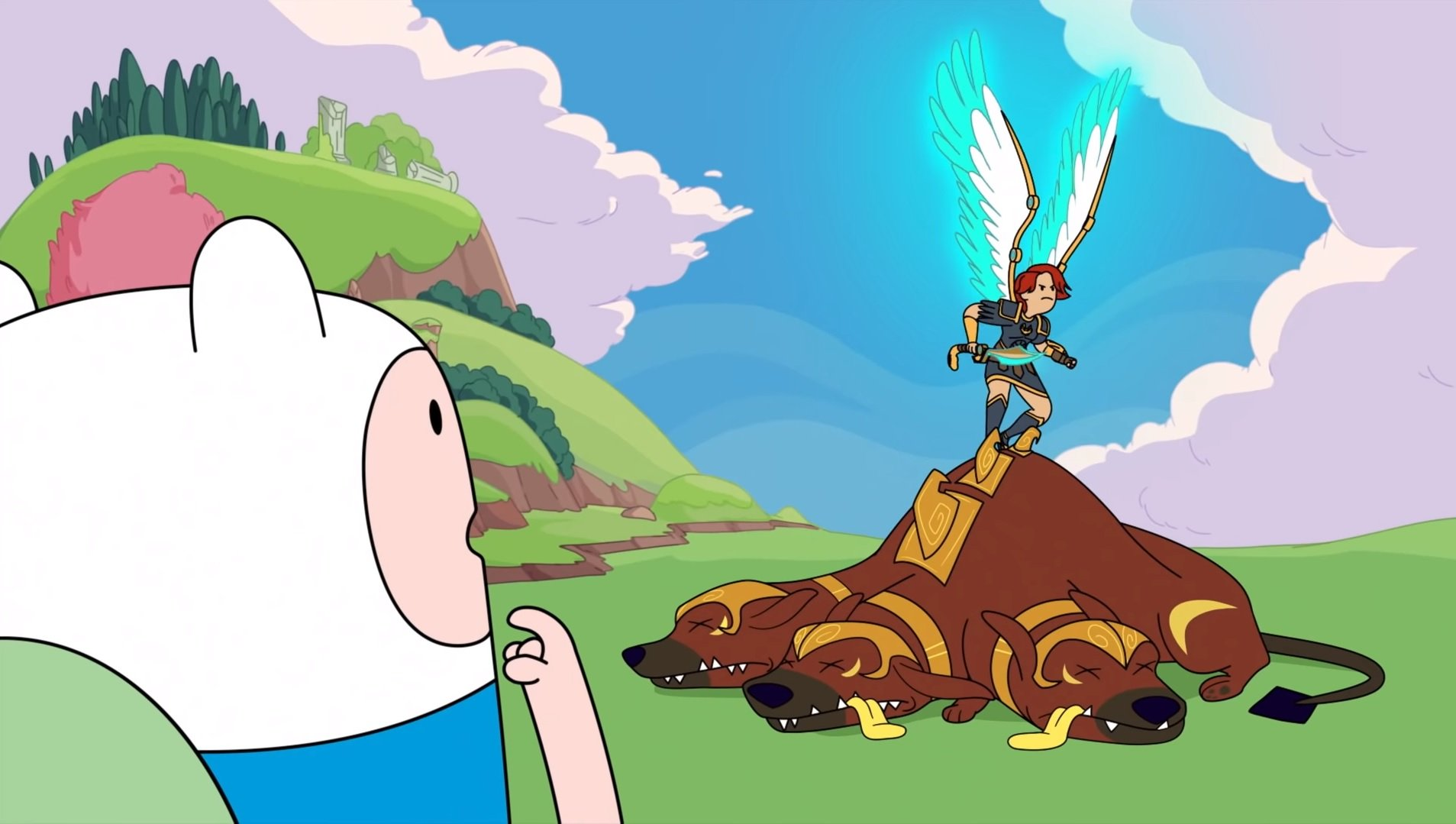 Immortals Fenyx Rising has an Adventure Time crossover screenshot