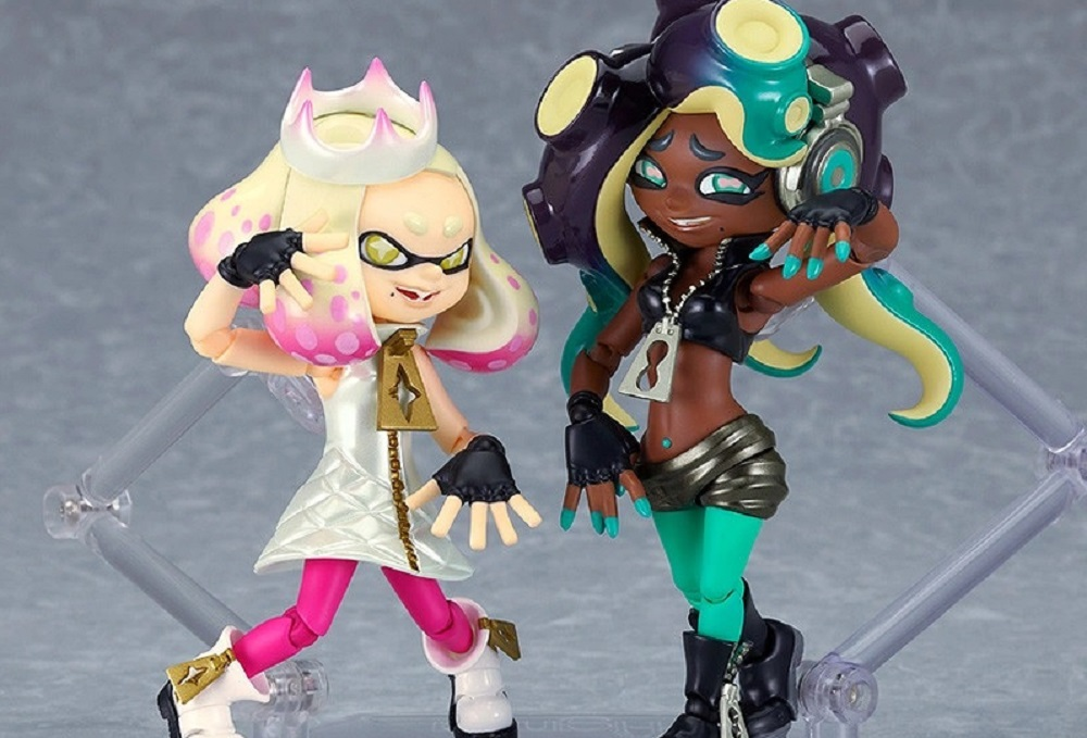 Not sure I can justify buying myself these Pearl & Marina Splatoon 2 Figmas, but they are pretty ace screenshot