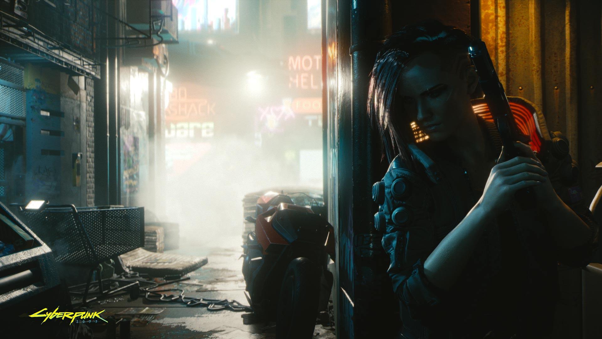 Cyberpunk 2077 looks completely fine on Xbox One screenshot