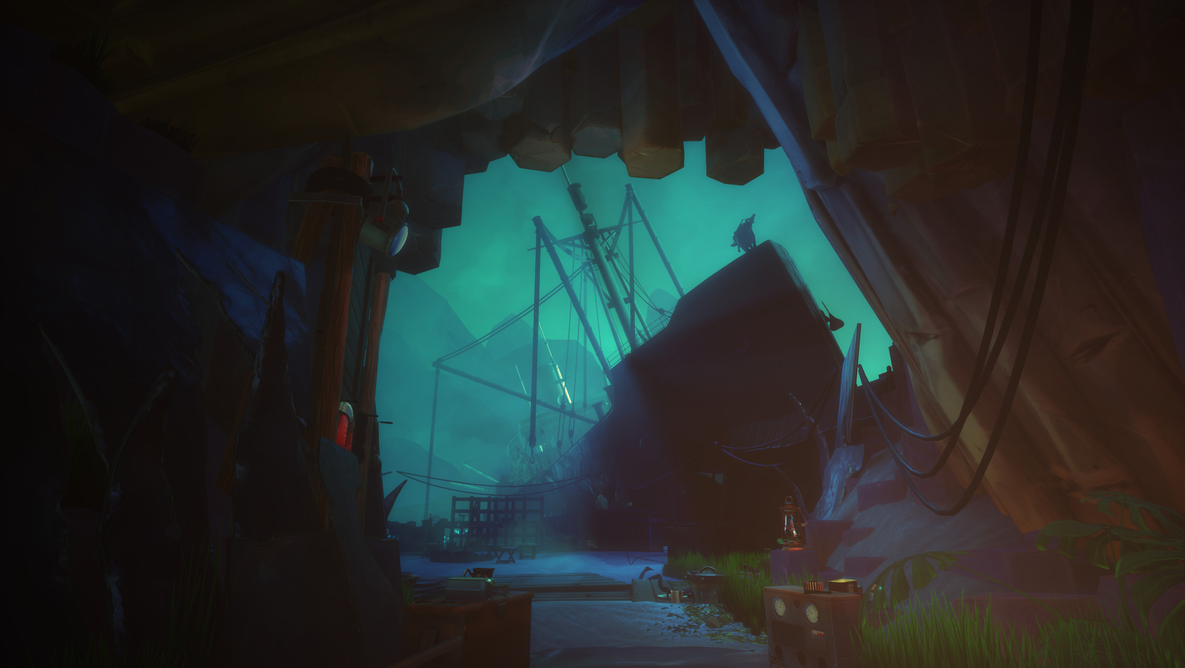 Adventure game fans should make time for Call of the Sea in December screenshot