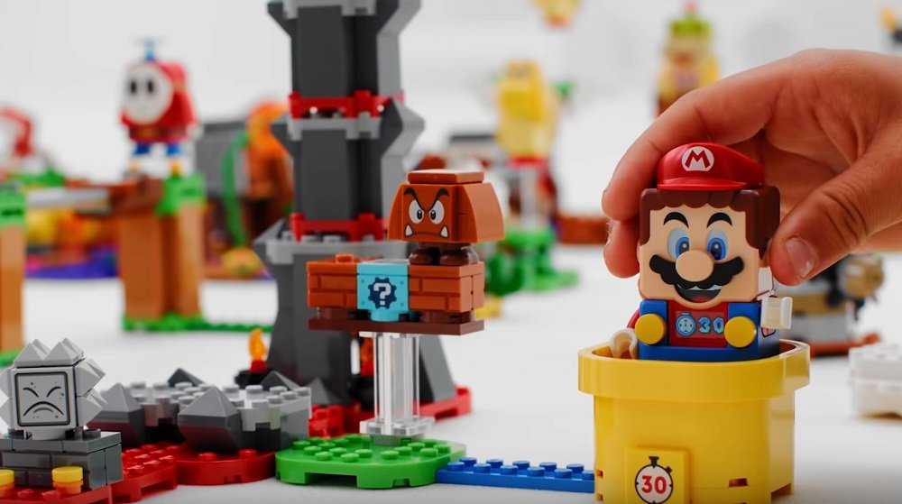 Incoming Lego Super Mario sets include new villains, custom bricks, and the famous Tanooki suit screenshot