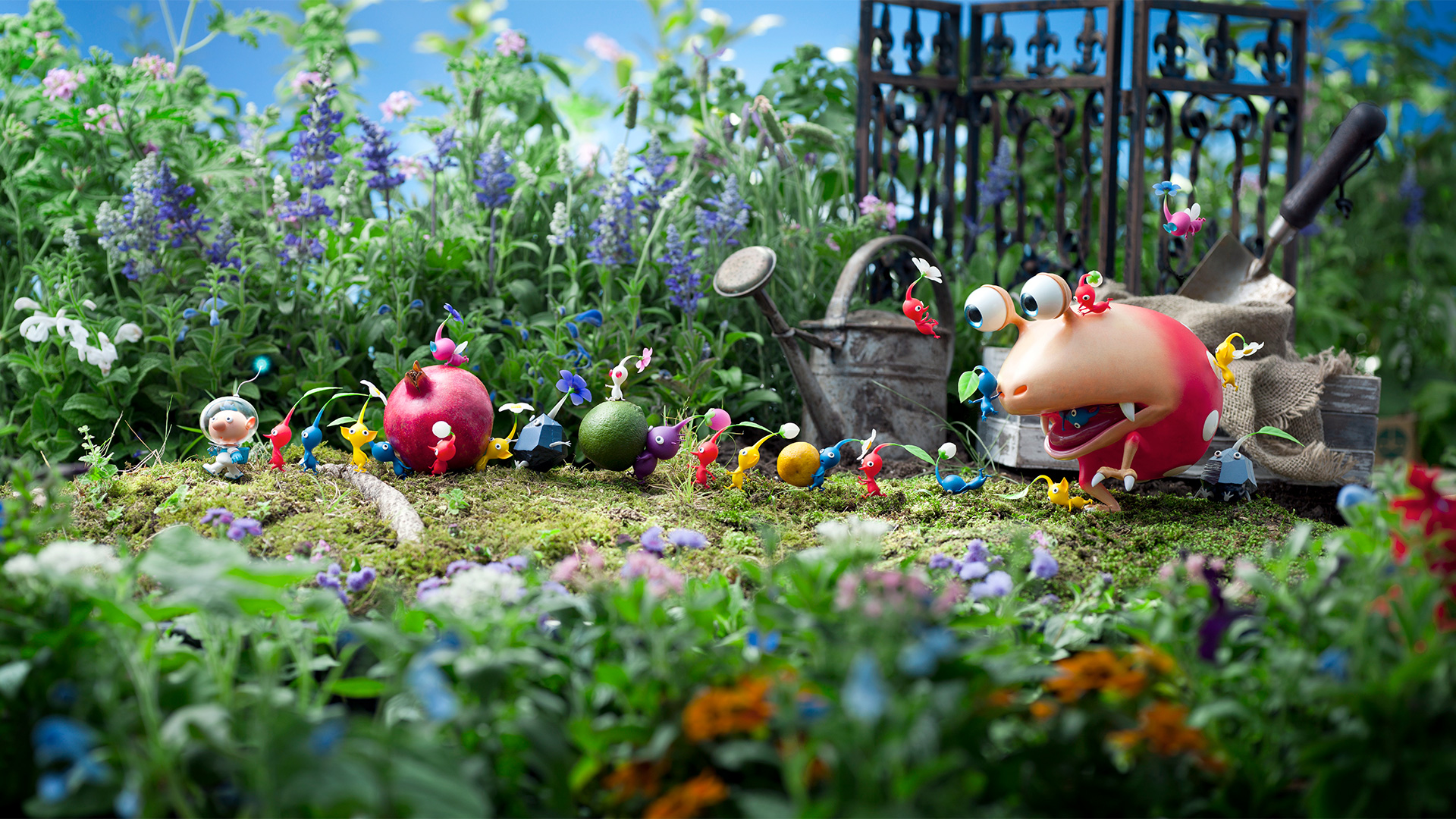 Pikmin 3's final boss is top-tier Nintendo game design screenshot