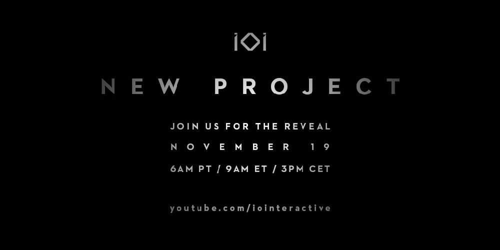 Hitman developer IO Interactive to announce new project tomorrow screenshot