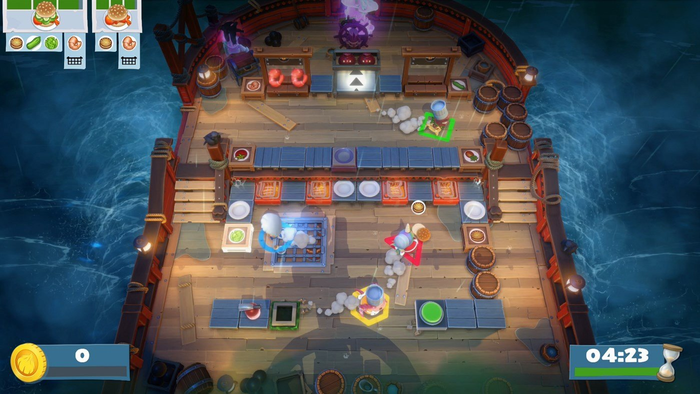 Overcooked: All You Can Eat has new levels in The Peckish Rises