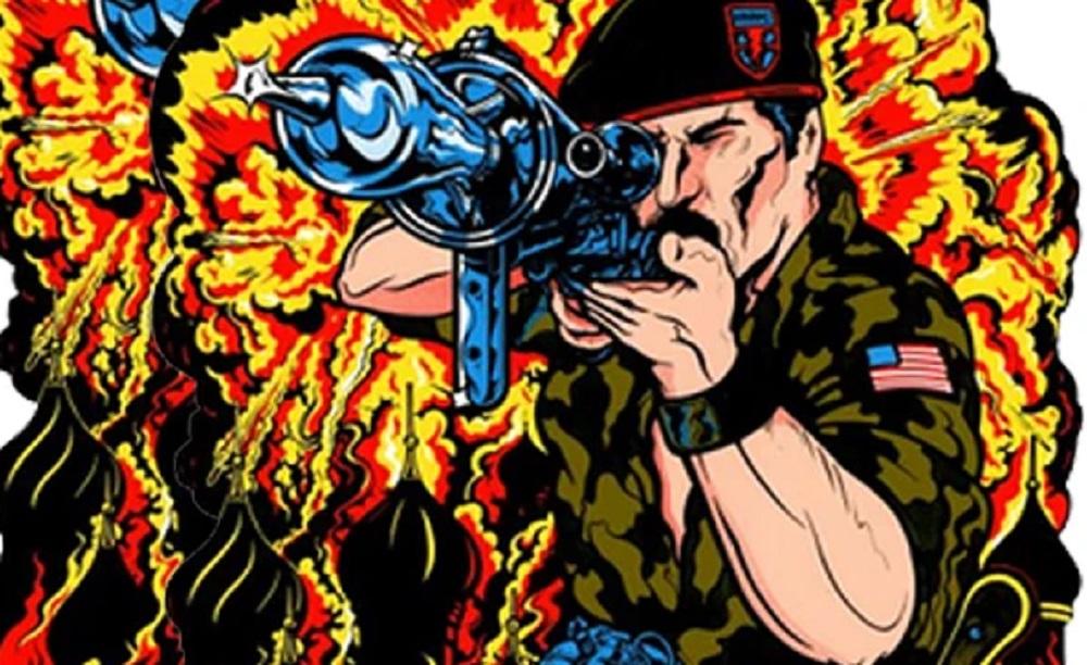 Who needs Black Ops Cold War when Konami's Green Beret has returned? screenshot