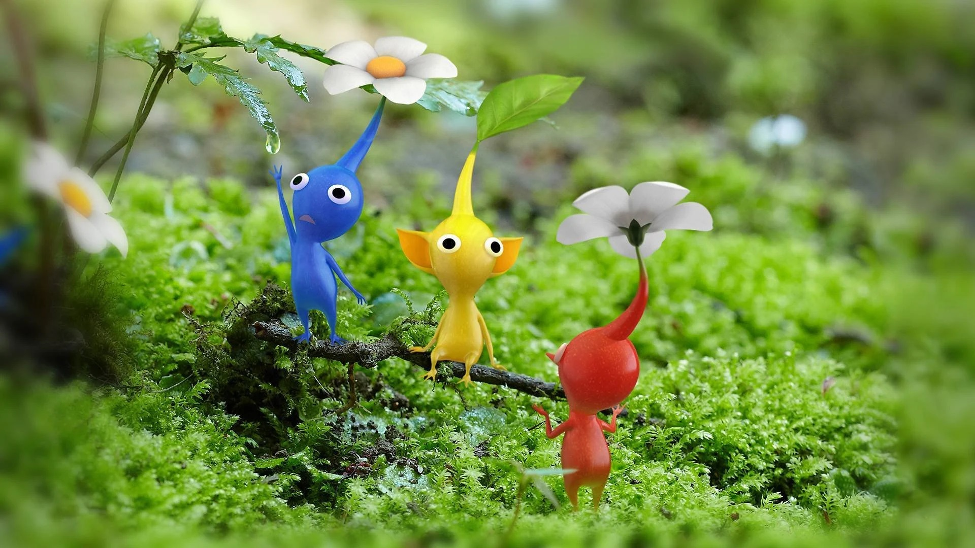 Pikmin 3 just got a patch to shore up some glitches
