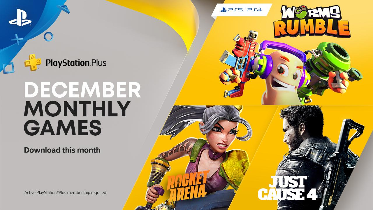 December 2020 PlayStation Plus Games