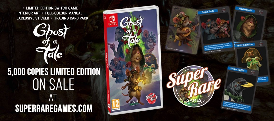 Ghost of a Tale Super Rare Games contest win Switch