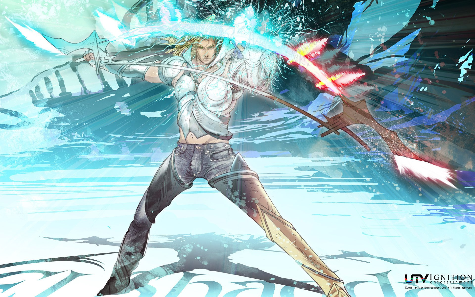 El Shaddai is getting a better-late-than-never PC port on Steam soon screenshot