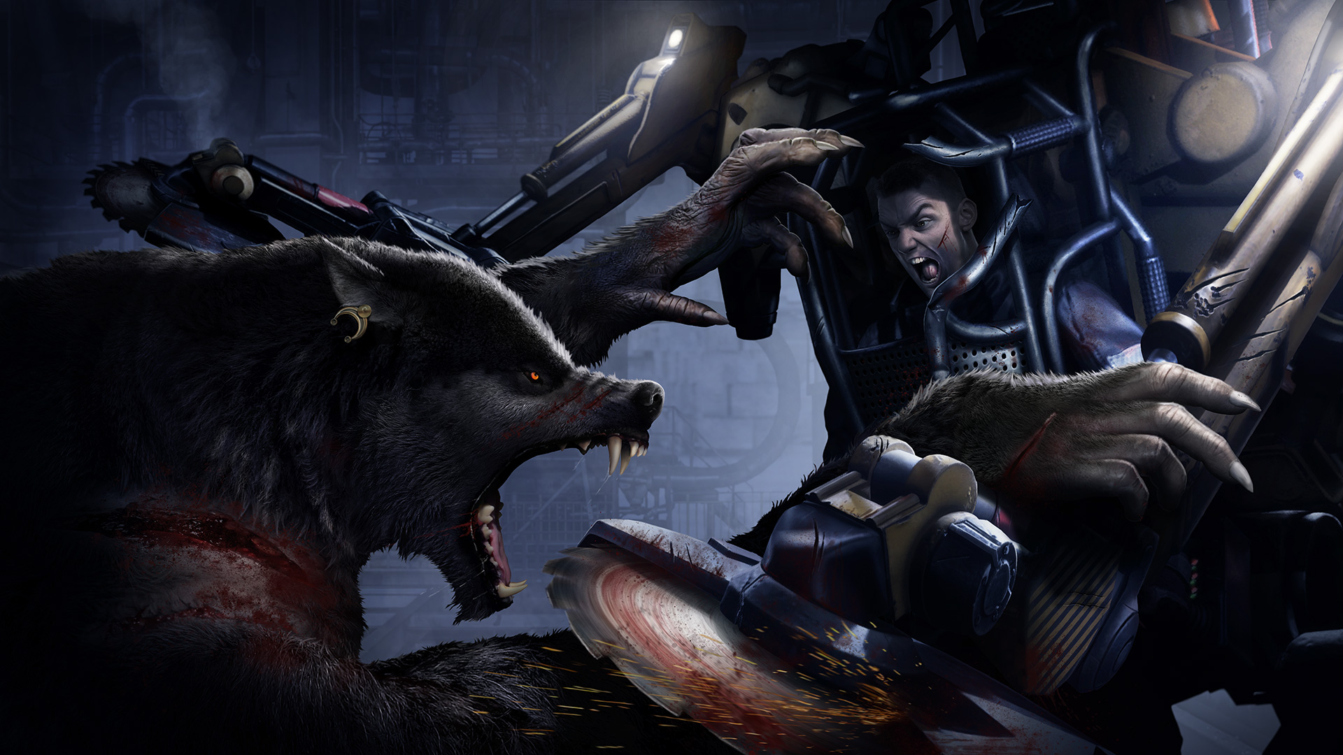This footage of Werewolf: The Apocalypse - Earthblood makes me want to bust out Prototype screenshot