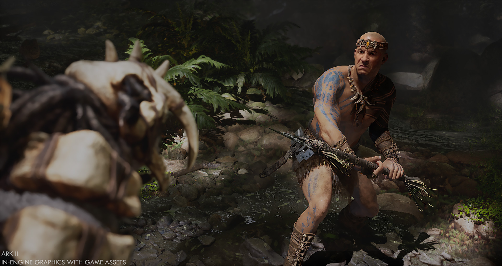Studio Wildcard says Vin Diesel played over a thousand hours of Ark: Survival Evolved screenshot