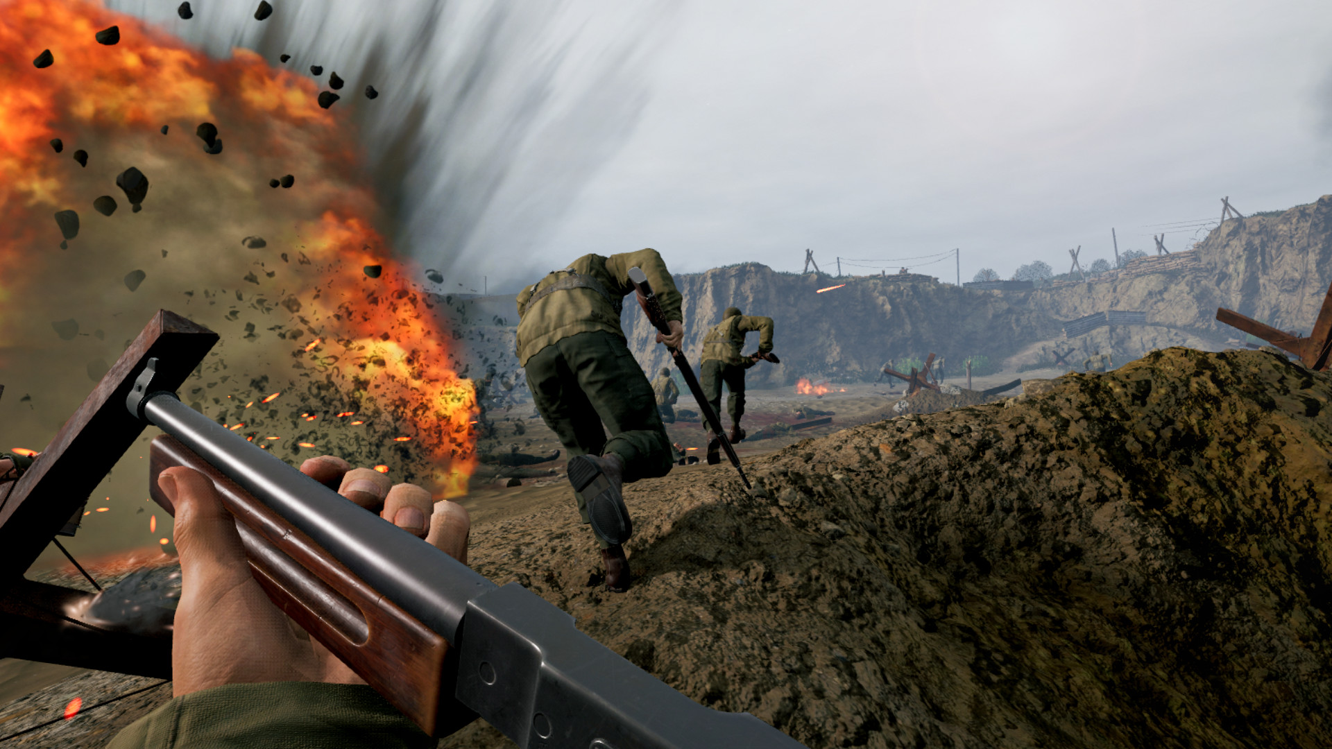 Review: Medal of Honor: Above and Beyond screenshot