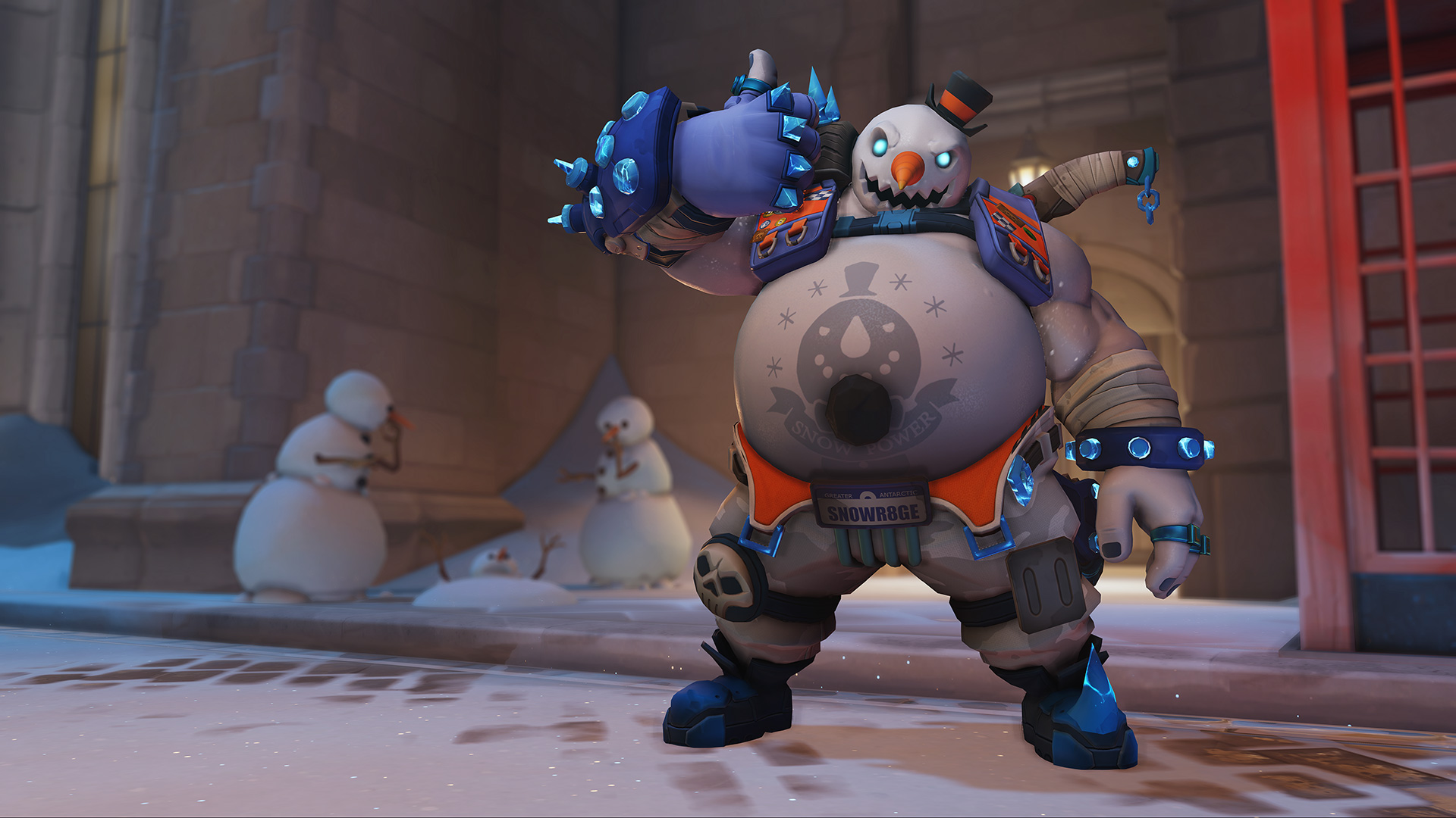 Frosty Roadhog skin