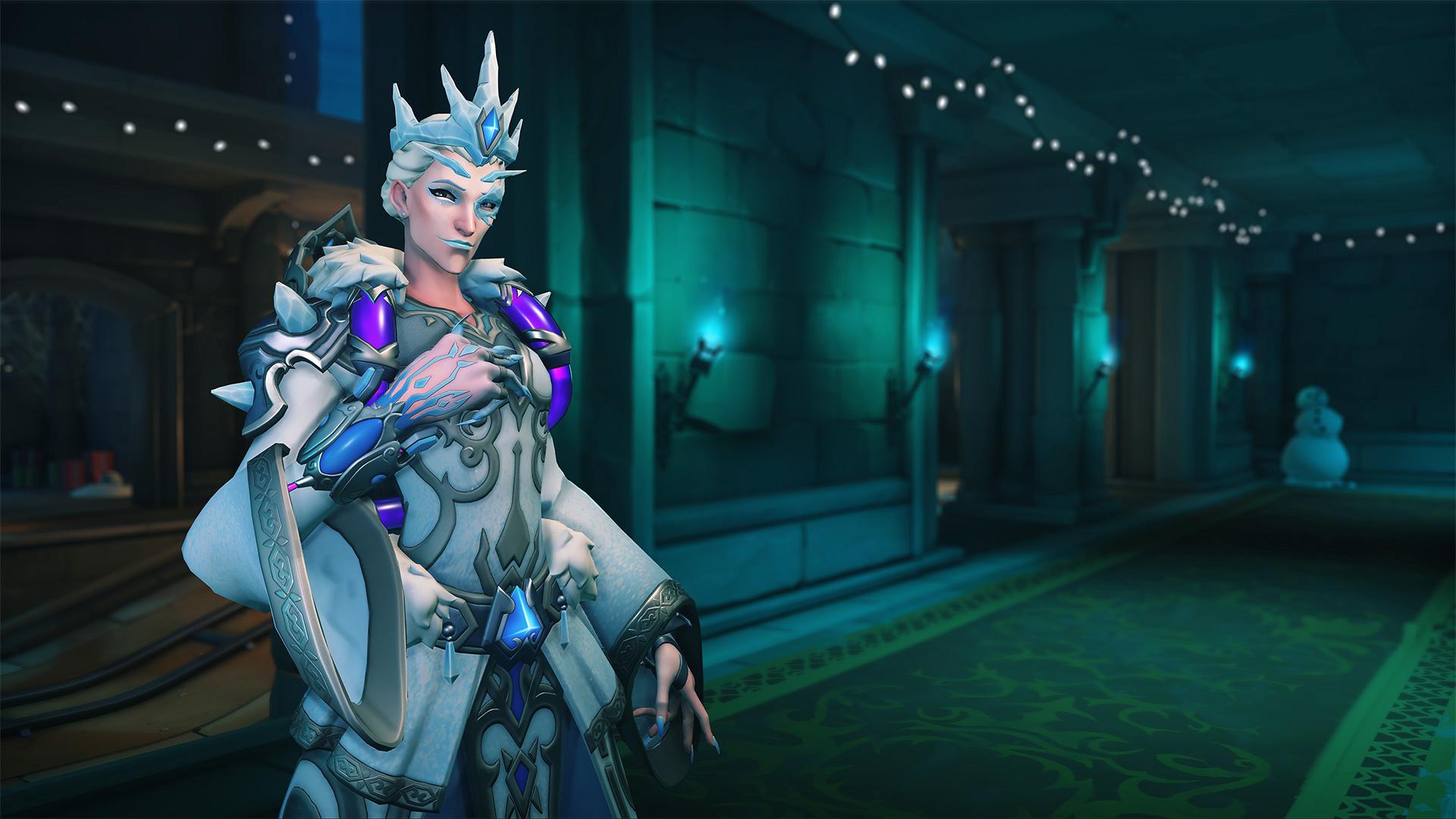 Ice Empress Moira skin