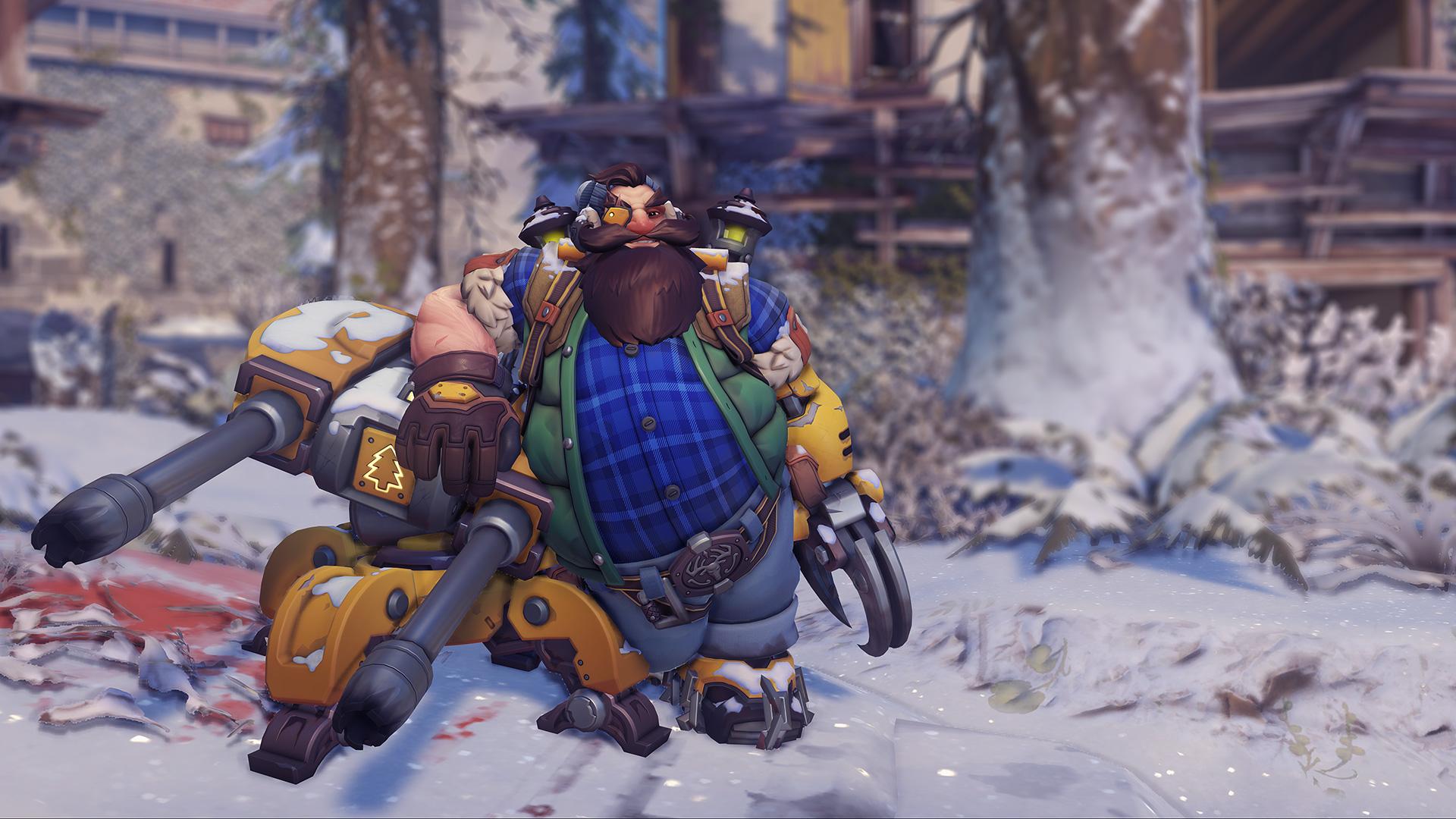 Lumberjack Torbjörn skin
