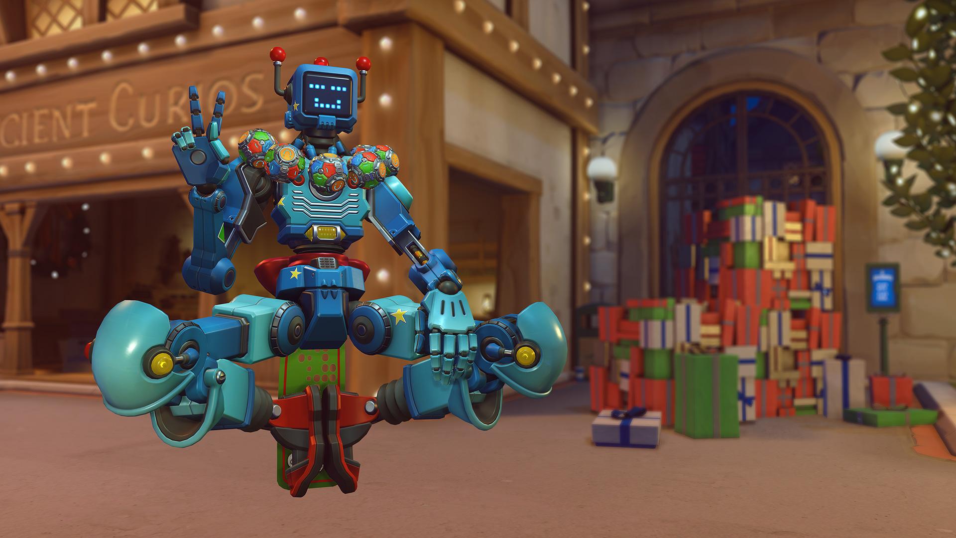 Toybot Zenyatta skin